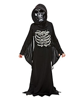 Halloween Skeleton Reaper Costume