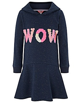 Monsoon Wow Hooded Sweat Dress