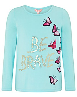 Monsoon Be Brave Longsleeve Tee