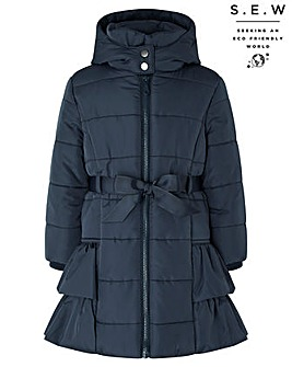Monsoon S.E.W Recycled Ocean Padded Coat