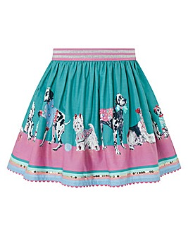 Monsoon S.E.W Nessie Dog Border Skirt
