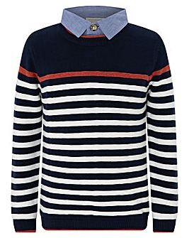 Monsoon Peter Stripe Jumper