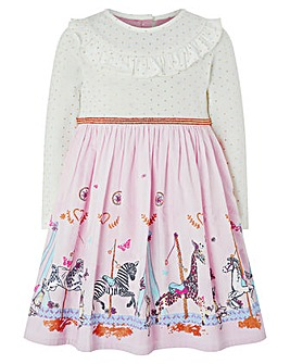Monsoon Baby Carissa Border Dress