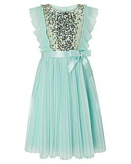 Monsoon S.E.W Gabriella Pleat Dress