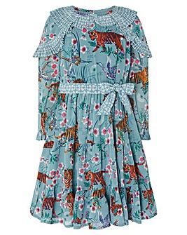 Monsoon S.E.W Akira Tiger Print Dress