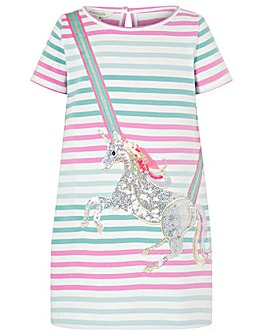 Monsoon Blake Unicorn Sweat Dress