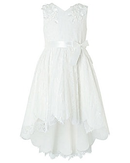 Monsoon Rebecca Lilly Ivory Lace Dress