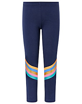 Accessorize Glitter Stripe Legging