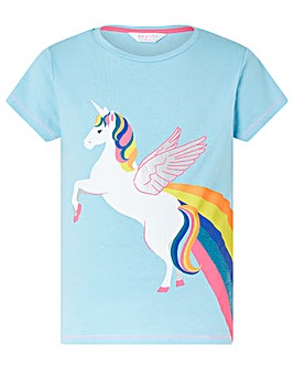 Accessorize Retro Unicorn T Shirt