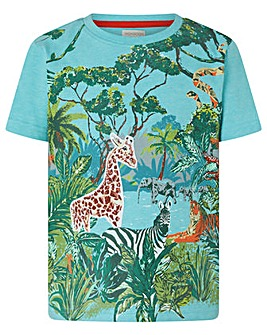 Monsoon Basil Jungle Scene Tee