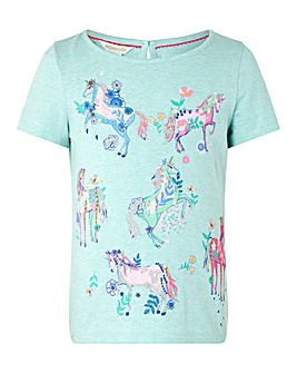 Monsoon S.E.W Adele Unicorn Top