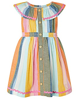 Monsoon Baby Molly Stripe Dress
