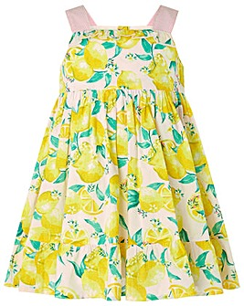 Monsoon S.E.W. Baby Leonie Lemon Dress