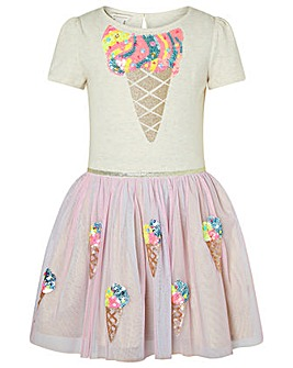 Monsoon Disco Iris Ice Cream Dress