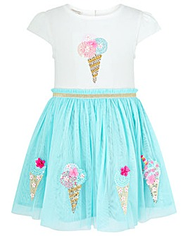 Monsoon Baby Ice Cream Disco Dress