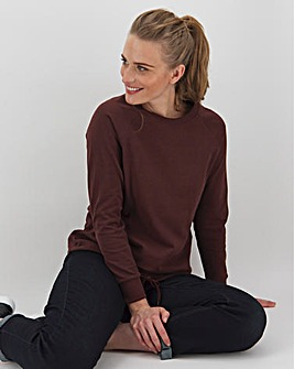 Chocolate Cotton Sweatshirt