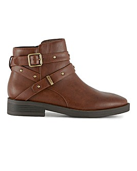 Ferny Ankle Boots Wide Fit