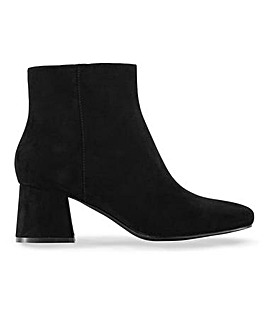 Jane Ankle Boots Wide Fit