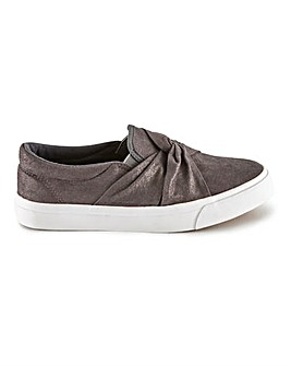 Megara Slip On Pumps Wide Fit