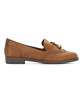 Nova Tassel Loafer Shoes Extra Wide Fit
