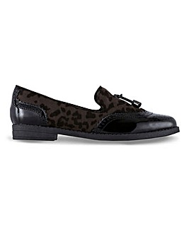 Nova Tassel Loafer Shoes Wide Fit