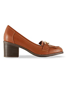 Tinker Heeled Loafers Wide Fit