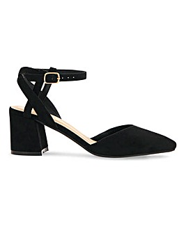 Cora Pointed Toe Heeled Shoes Wide Fit