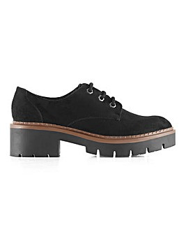 Quinn Lace Up Shoes Wide Fit