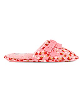 Jaffa Mule Slippers Wide Fit