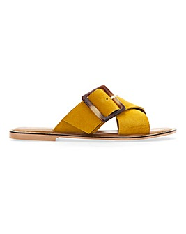 Joyce Large Buckle Sandals Extra Wide Fit