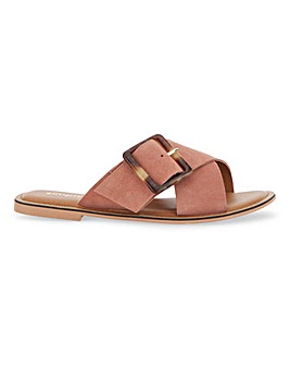 Joyce Leather Sandals Wide Fit