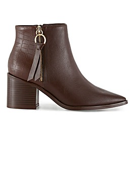 Rosalie Heeled Boots Wide Fit