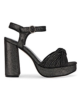 Tegan Platform Sandals Extra Wide Fit
