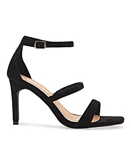 Presley Strappy Heeled Sandals Wide Fit