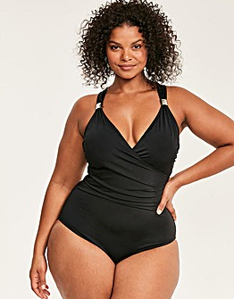 Illusion Curve Firm Control Swimsuit