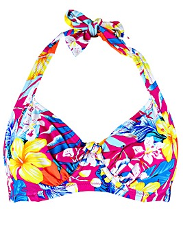 Pour Moi Heatwave Halter Underwired Top