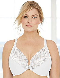 Glamorise 1246 Wonderwire Front Close T-Back