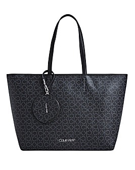 Calvin Klein Mono Logo Medium Shopper