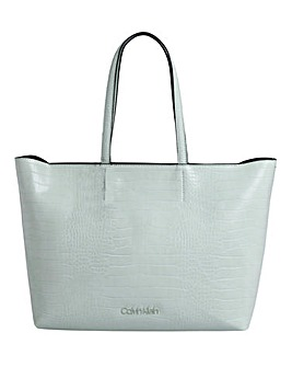 Calvin Klein Croc Shopper Bag