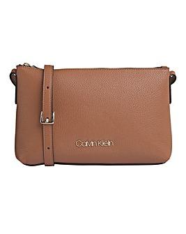 Calvin Klein Neat Crossbody Bag Tan