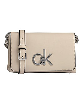 Calvin Klein CK Re-Lock Flap Crossbody Bag
