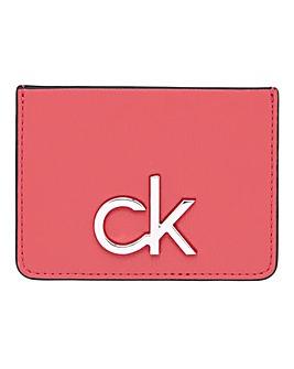 Calvin Klein Re-Lock Cardholder Coral