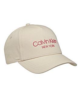 Calvin Klein Logo Cap Sand