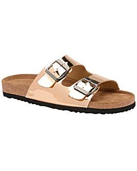 Dunlop Dionne standard fit open sandals
