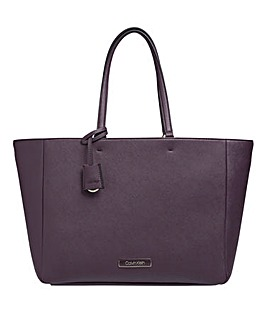 Calvin Klein Merlot Shopper Bag