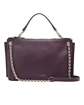 Calvin Klein chained shoulderbag