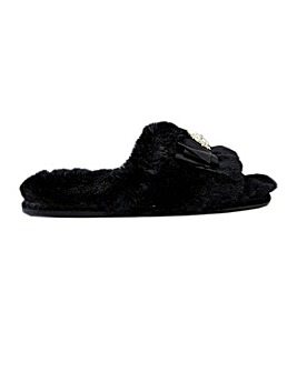 Pretty You London Anya Slider Slippers for Women
