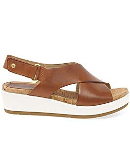 Pikolinos Skiathos Womens Wedge Sandals