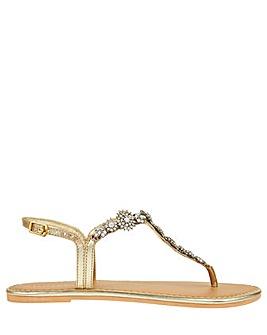 Accessorize Caitlin Crystal Sandal