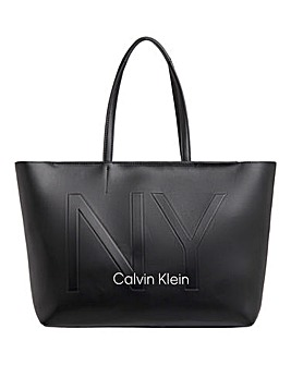 Calvin Klein shopper NY Black